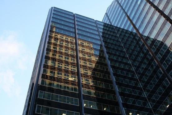 chicago downtown skyscraper