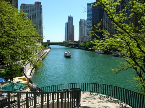 chicago river city