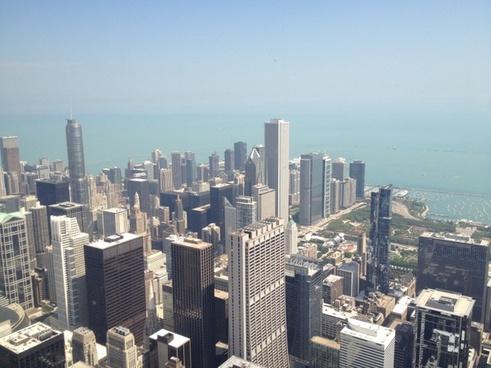 chicago skyline willis tower chicago