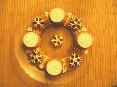 chick advent wreath