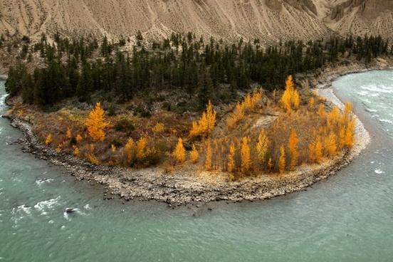 chilcotin river british columbia canada