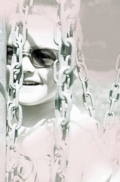 child and chains