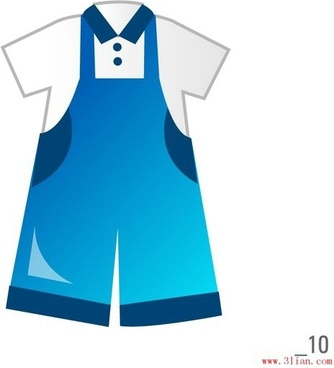 children39s clothing vector