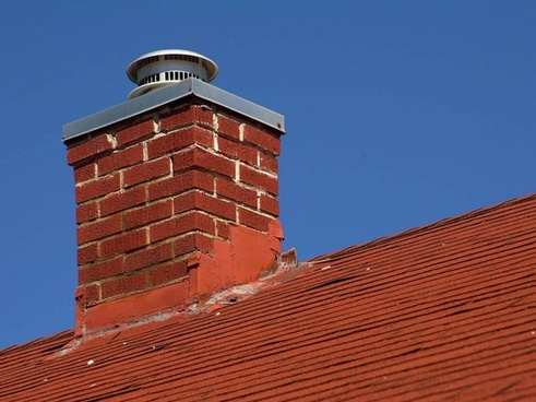 chimney fireplace home