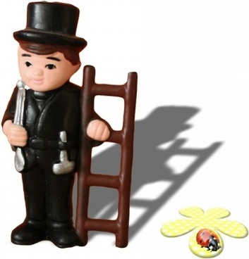 chimney sweeper for good luck