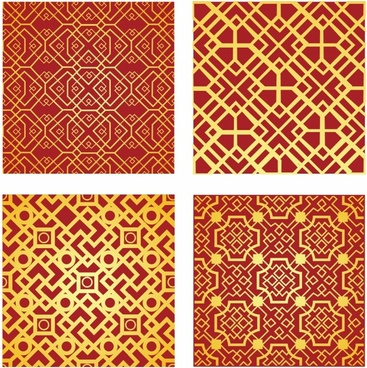 Chinese Pattern Free Vector Download 19194 For