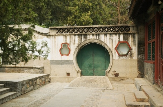 chinese doorway