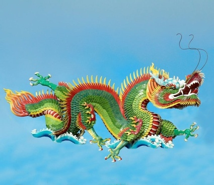 chinese dragon sculpture 02 hd pictures