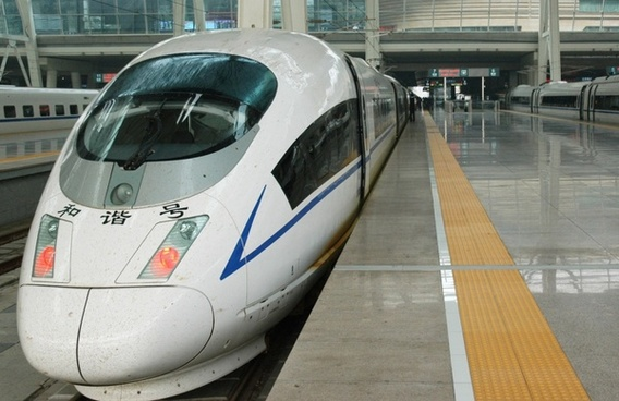 chinese highspeed train