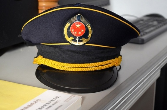 chinese navy hat