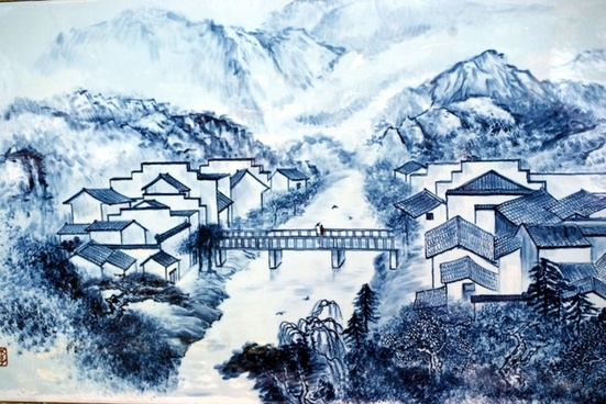 chinese porcelain picture