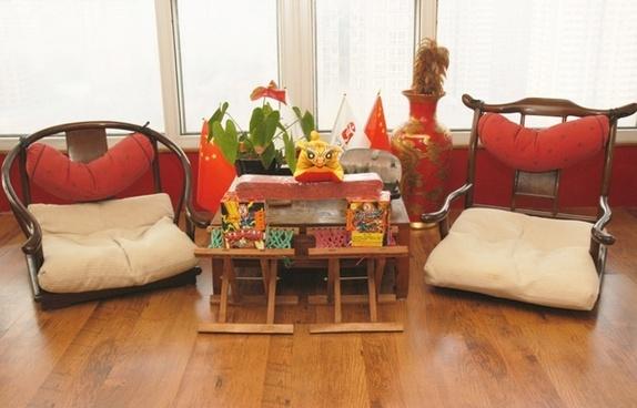 chinese sitting room