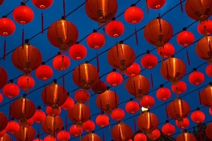 chinese traditional lanterns picture 1