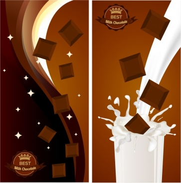 chocolate advertising brown design milk splashing decor