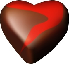 Chocolate hearts 12