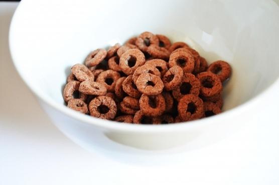 chocolate rings breakfast