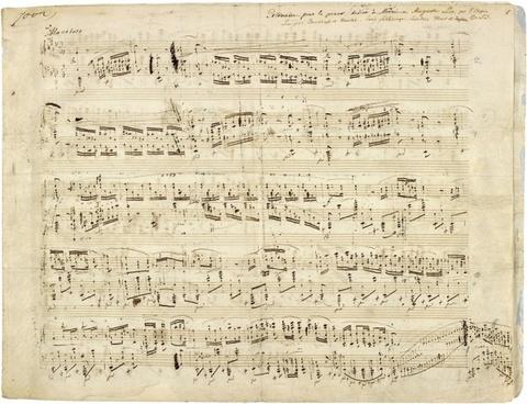chopin music notenblatt