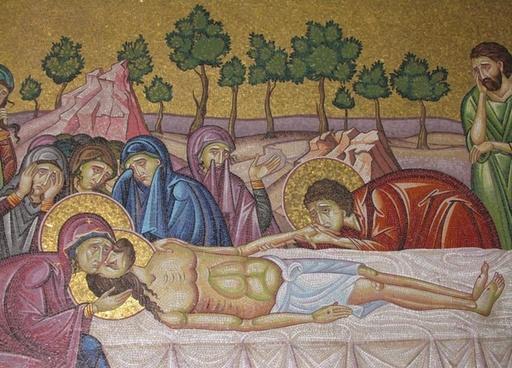 christian mosaic jesus