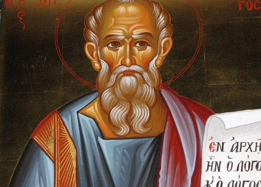 christian painting saint