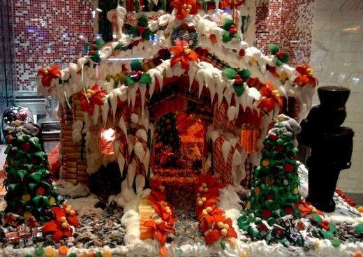 christmas 2011 gingerbread house
