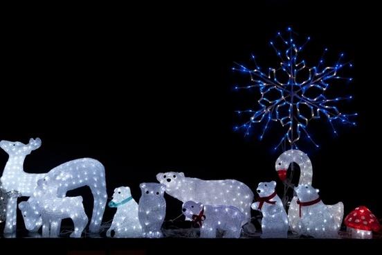 christmas animal lights