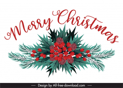 christmas background bright colored leaves pines decor