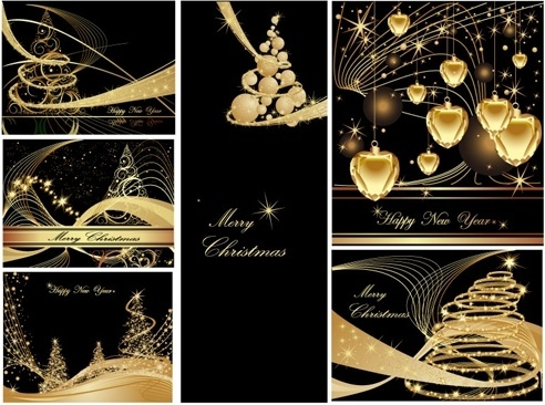 christmas background christmas dream vector background ii