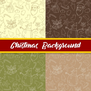 christmas background colletion