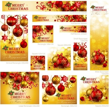 christmas background vector banner promotional s