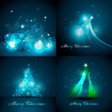 christmas background templates gorgeous sparkling lights decor