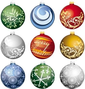 christmas ball 2 vector