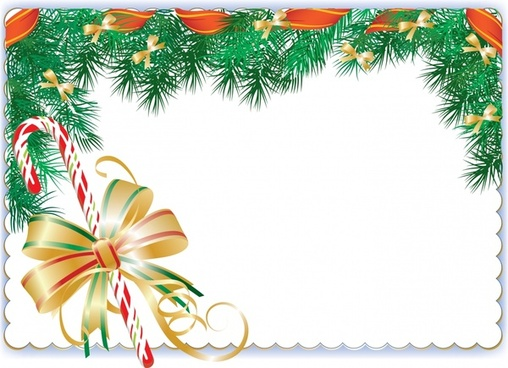 christmas ball vector element border