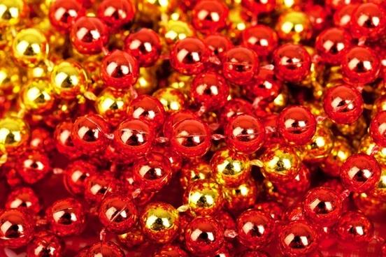christmas balls pattern