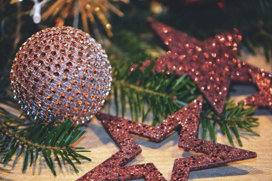 christmas balls stars