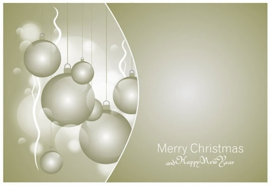 christmas background grey blurred bauble balls decor