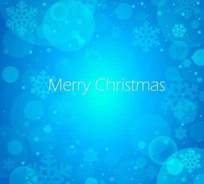 christmas blue background abstract vector illustration