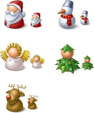 Christmas Buddy Icons icons pack