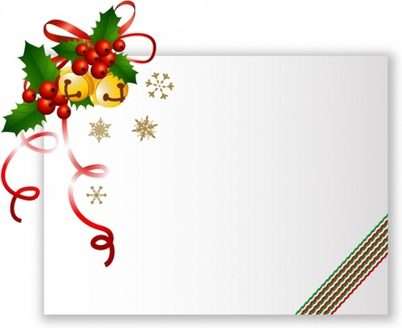 Christmas Card Christmas Card · Christmas Cards With The Tag Vector