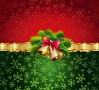christmas card background vector illustration