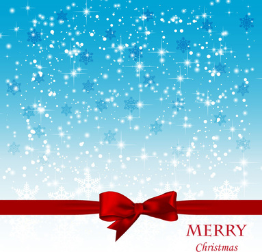Marvelous Christmas Card Background Vector Graphic · Christmas Card Background With  Spark And Red Knot