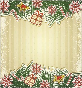 christmas cards 01 vector