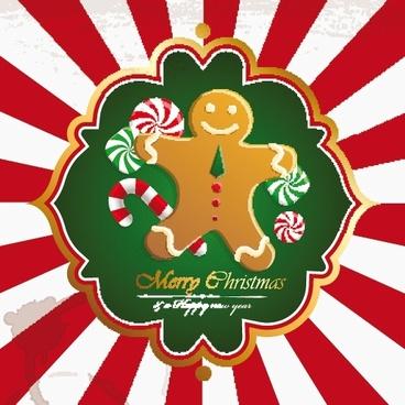 christmas christmas christmas stocking background vector
