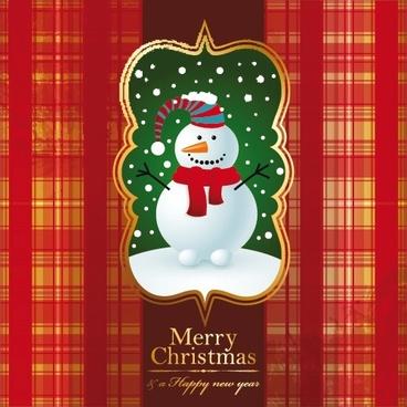 christmas christmas christmas stocking snow background vector illustration