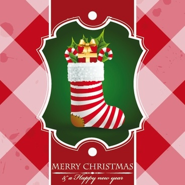 christmas christmas christmas stockings vector