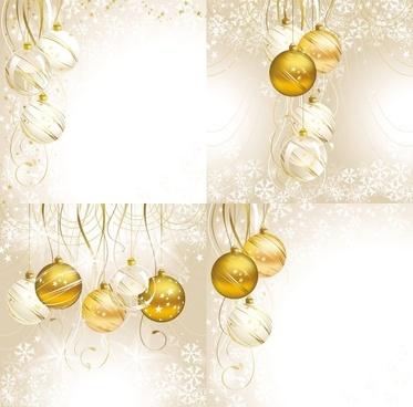 christmas crystal lob vector