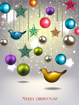 christmas decor element background