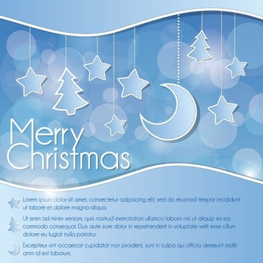 christmas decoration background 02 vector