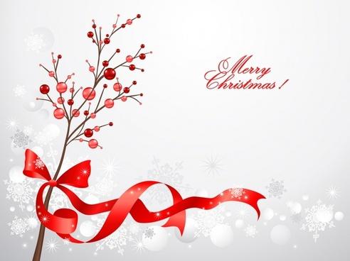 christmas decoration ribbon bow ribbon vector