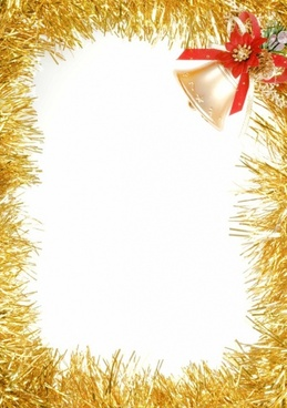 christmas decorative border picture 2