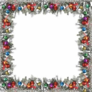 christmas decorative border picture 3 - Christmas Borders Free